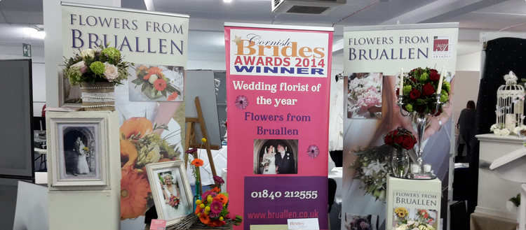North Cornwall Florist Bruallen Display