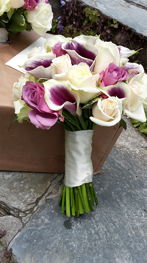Hand Tied Bridesmaid Bouquet