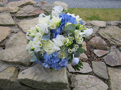 Hand Tied Wedding Bouquet by Bruallen